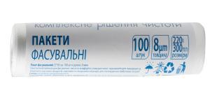 Пакет фасовочный 22х30 см 100 шт 8 мкм 10200530