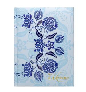 Блокнот А-5 TRACERY 80 листов, клетка, твердая обложка, ламинация с поролоном, синий BM.24582106-02
