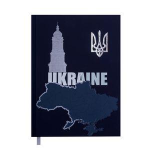 Ежедневник недатированный UKRAINE A5, 288 стр BUROMAX BM.2021
