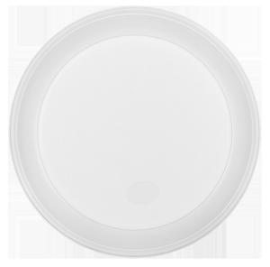 Тарелка одноразовая d-205 мм белая 5.5-6.0 г 100 шт. BuroClean 1080110
