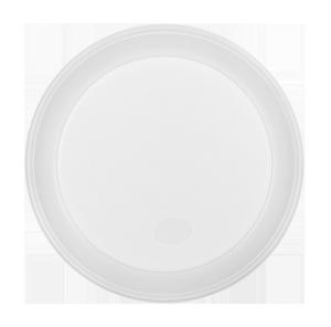 Тарелка десертная одноразовая d-165 мм белая 4 г 100 шт./уп BuroClean 1080121
