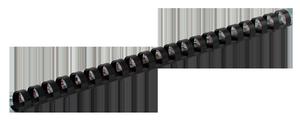 Пружина пластиковая d-6 мм 100 шт.Buromax BM.0500