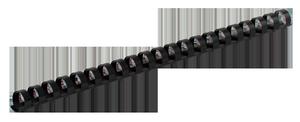 Пружина пластиковая d-16 мм 100 шт.Buromax BM.0505