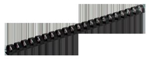 Пружина пластиковая d-22 мм 50 шт.Buromax BM.0507