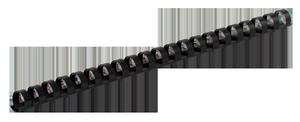 Пружина пластиковая d-25 мм 50 шт.Buromax BM.0508