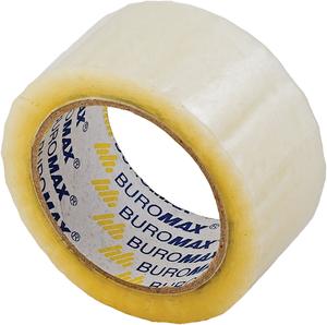 Скотч упаковочный 48 мм х 90м х45мкм Buromax BM.7025