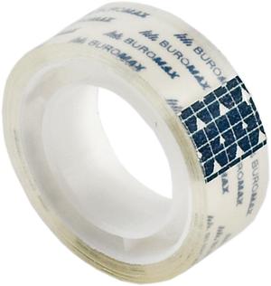 Скотч канцелярский прозрачный 15 мм х10м 10 шт.Buromax BM.7130-01