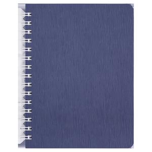 Книжка записная на пружине BARK А6, 60 листов, клетка, пластиковая обложка BUROMAX BM.24654154