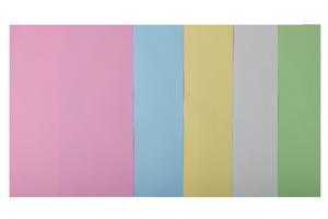 Набор цветной бумаги А4, 80г/м2, PASTEL, 5 цв., 20 листов BUROMAX BM.2721220-99