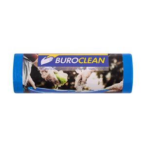 Пакеты для мусора EuroStandart крепкие, синие, 120 л, 10 шт, BuroClean, 10200043