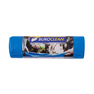 Пакеты для мусора EuroStandart крепкие, синие, 240 л, 10 шт, BuroClean, 10200062