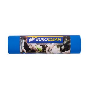Пакеты для мусора EuroStandart крепкие, синие, 240 л, 5 шт, BuroClean, 10200061