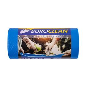Пакеты для мусора крепкие EuroStandart синие, 60 л, 20 шт, BuroClean, 10200033