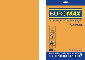 Бумага цветная  А4 NEON, EUROMAX, 20листов, BUROMAX BM.2721520E