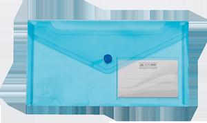 Папка-конверт на кнопке DL (240x130мм) TRAVEL Buromax BM.3938