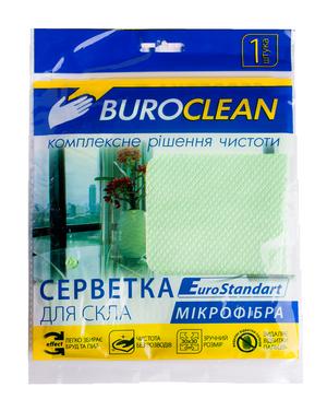 Салфетка для стекла, микрофибра  EuroStandart 30*30 см BuroClean 10200125