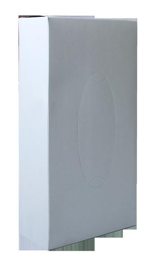 Салфетки косметические целлюлозные, 2 слоя, 21х21 см, 80 шт, Buroclean, 10100301