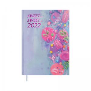 Ежедневник датированный SWEET 2022 А5 Buromax BM.2186