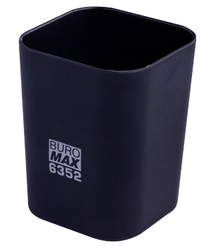 Стакан пластиковый  RUBBER TOUCH для письменных принадлежностей Buromax BM.6352