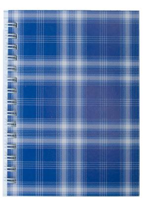 Тетрадь Buromax Shotlandka на пружине сбоку А-6 48 листов.BM.2592