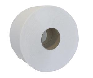 Туалетная бумага целлюлозная Джамбо, 2 слоя, 100 м, Buroclean, 10100061