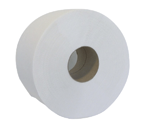 Туалетная бумага Джамбо, 130 м, макулатура, Buroclean, 10100051