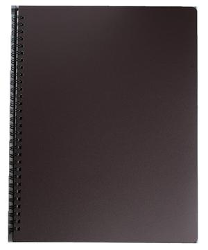 Тетрадь для записей OFFICE, А4, 96 л., клетка, пластиковая обложка, BUROMAX BM.24451150