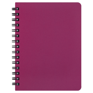 Тетрадь для записей OFFICE, А6, 96 л., клетка, пластиковая обложка, BUROMAX BM.24651150